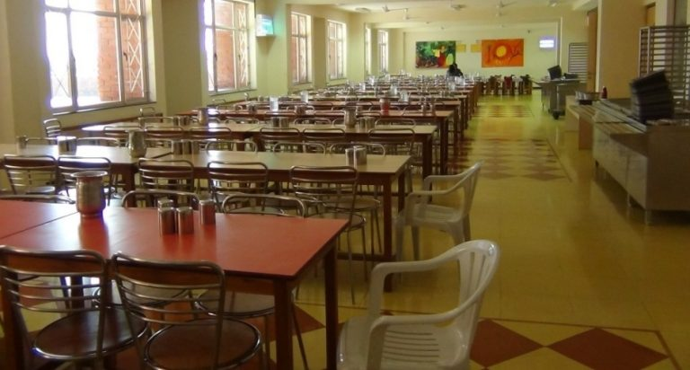 Dining Hall at Tapti Valley International School