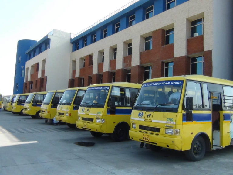 Transport Facility at Tapti Valley International School